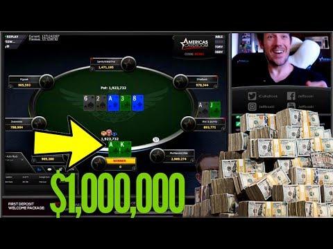 $1,000,000 Online Poker Tournament!