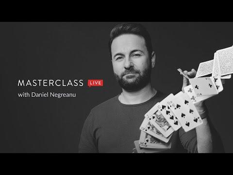 #MasterClassLive with Daniel Negreanu   MasterClass