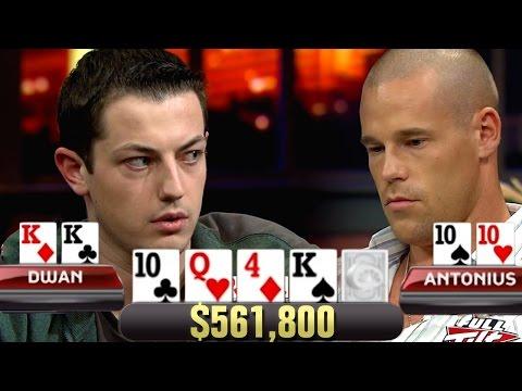SET Over SET For $561,800! Patrik Antonius Falls Right Into Tom Dwan's Trap