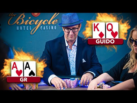 STYLISH Gambler Gives Opponents Hell ♠ Live at the Bike!