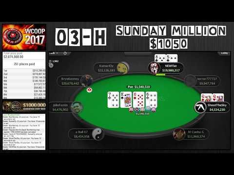 WCOOP 2017   03-H Sunday Million $1050 with Brynn Kenney